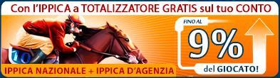 Promozione Cavalli Totalizzatore