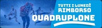 Promozione Quadruplone Sport