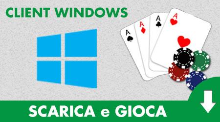 Come giocare al poker se hai windows